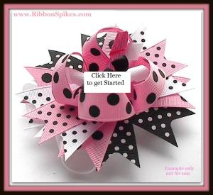 BUY IT NOW HAIR BOW INSTRUCTIONS BOWKIT