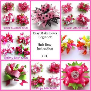 How to make hair bows CD